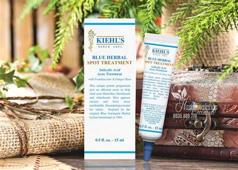 Blue Herbal Spot Treatment 15ml gel trị mụn kiehl s blue herbal spot treatment 15ml của mỹ