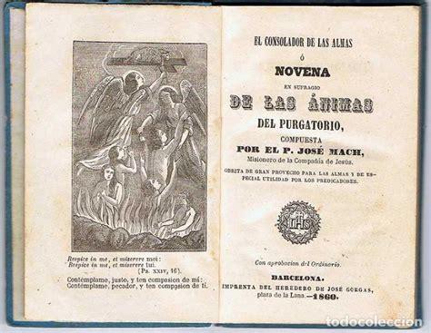 libro 13 almas el consolador de las almas o novena en sufragio comprar