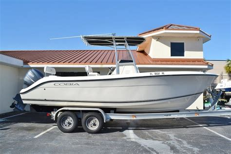 cobia boats dealers florida used 2010 cobia 237 center console boat for sale in vero