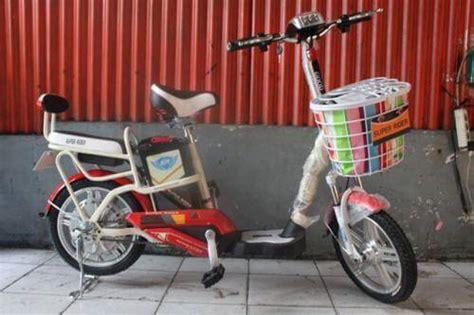 Sepeda Listrik Sr Mars Platinum jual sepeda listrik tiger selis united terbaru 187 alihamdan