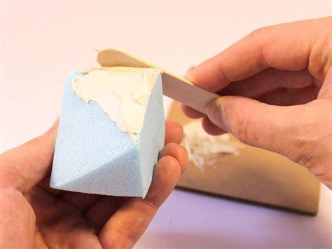 styrofoam filler skill builder with styrofoam and sugru make