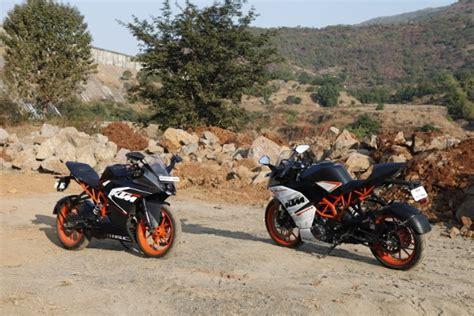 Ktm Rc 150 Price In India Ready To Race Ktm Rc 390 And Rc 200 Road Test Review
