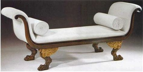 roman style sofa here is a directoire daybed from the french directoire