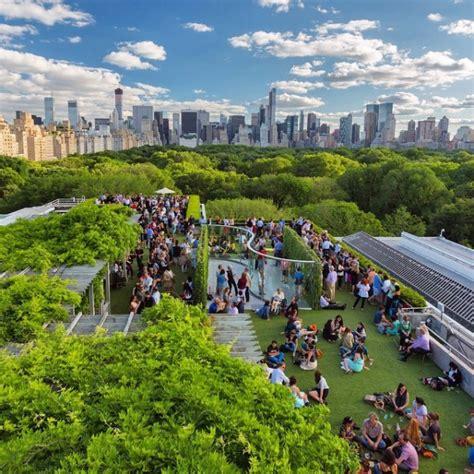 roof garden metropolitan museum of the most spectacular rooftop bars in new york city