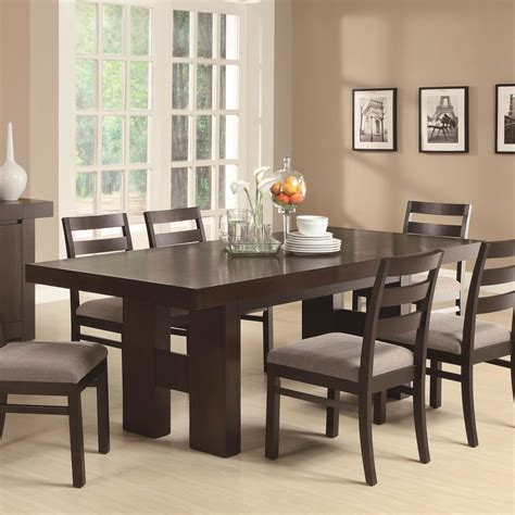 Toronto Double Pedestal Dining Set At Gowfb Ca True Dining Room Tables Images
