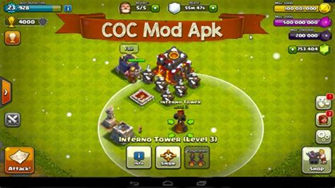 coc mod game download latest clash of clans hacks mod apk cheats free