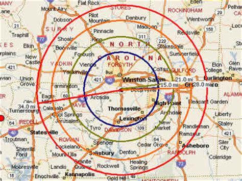 zip code map winston salem winston salem map