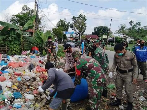 lanud rsn karya bakti ciptakan pekanbaru bebas sampah