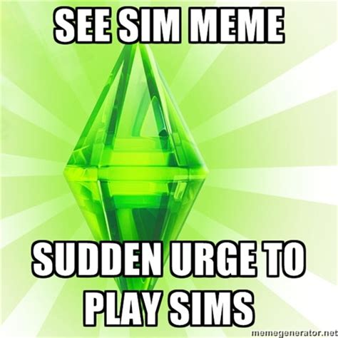 The Sims Meme - sims meme on tumblr