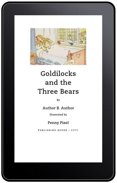 which format of ebook is best picture book templates arrive for kindle authors and a
