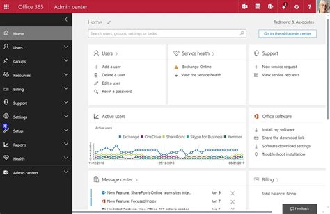 Office 365 Admin Login New Office 365 Admin Center Takes Petri