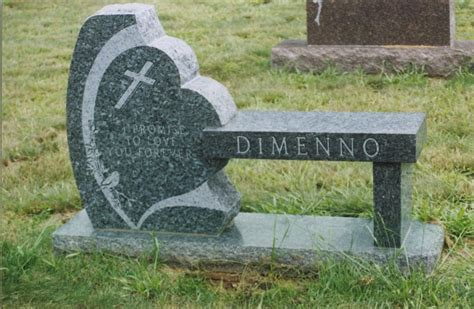 cemetery bench monuments our portfolio of granite memorial benches and monu benches