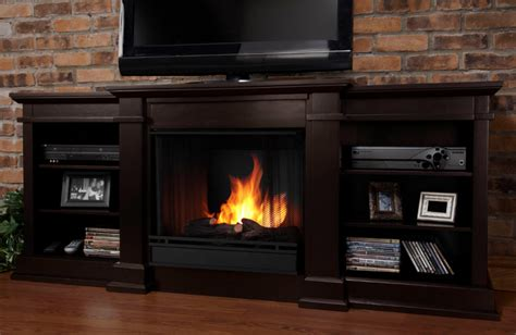 72 Media Fireplace by 72 Quot Fresno Indoor Walnut Gel Media Fireplace