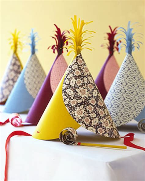 How To Make Paper Hats For Adults - diy birthday hats handmade