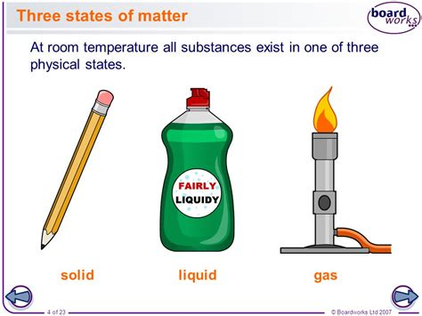 state of matter at room temperature for lithium solids liquids and gases ppt