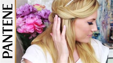 hair tutorial headband tuck treasures travels easy headband tuck in hair hairstyles sessions hair