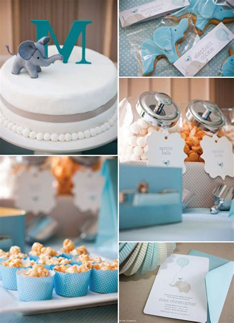 Baby Boy Elephant Shower Ideas by Chic Elephant Baby Shower Ideas And Invitations For 2014