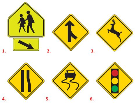 printable road sign test take a road sign practice test dmvorg