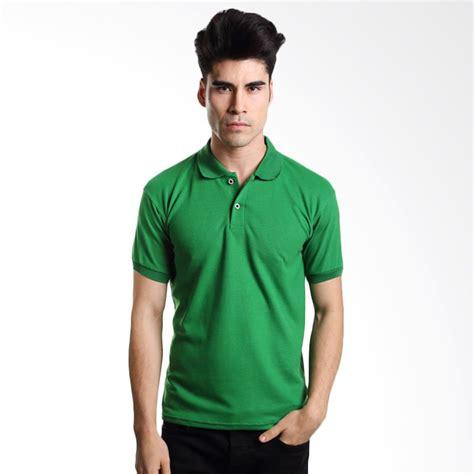 Kaos Hijau Pria jual vm polos hijau kaos polo pria harga