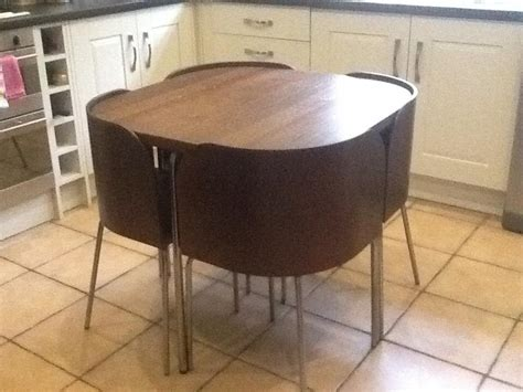 ikea space saving table ikea fusion space saving table chairs kitchen dining