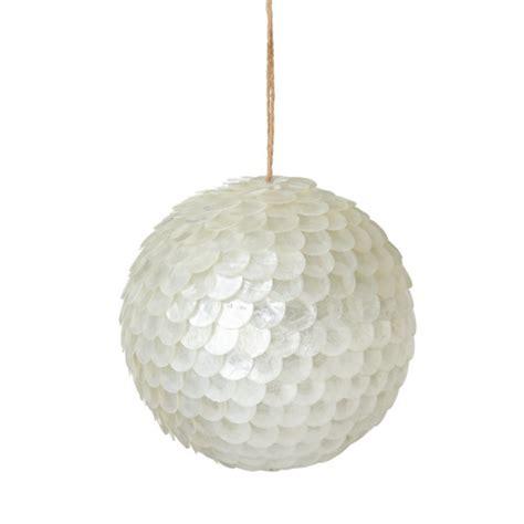 white ornament balls white sequin ornament