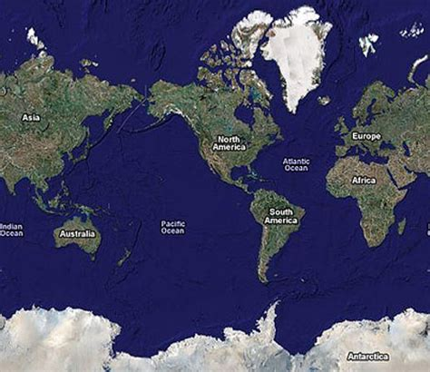 map of the world earth earth facts nations project