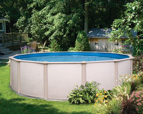 backyard leisure pools costa above ground swimming pool backyard leisure