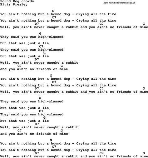 hound chords song lyrics with guitar chords for hound