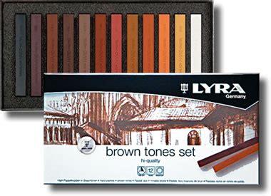 Brown Set Lyra Pastels Set Brown Tones L5641121 Pencils4artists