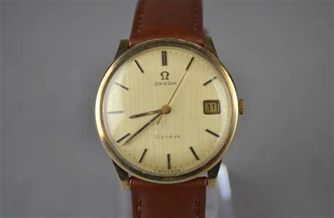 gents vintage omega solid 9ct gold wr0966