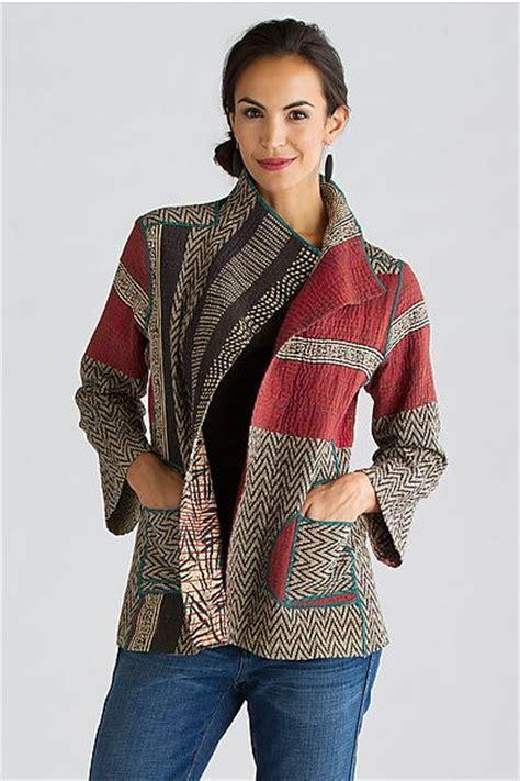 soho bamboo jacket by mieko mintz cotton jacket