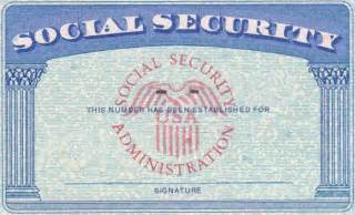 ss card template blank fillable social security card just b cause