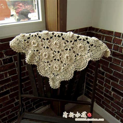 crochet sofa cover 2014 new cotton crochet 3d lace sofa cover for home decor