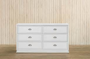 Home furniture dressers mason double wide dresser white