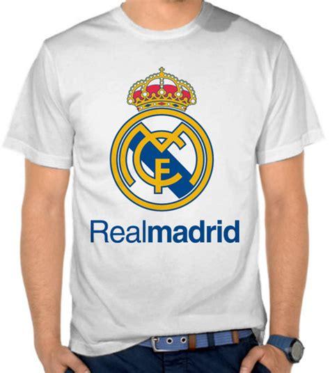 Kaos Bola Spanyol jual kaos real madrid logo liga spanyol satubaju