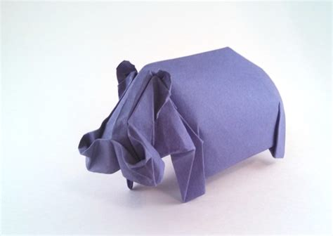 Origami Hippo - origami hippopotami page 1 of 2 gilad s origami page