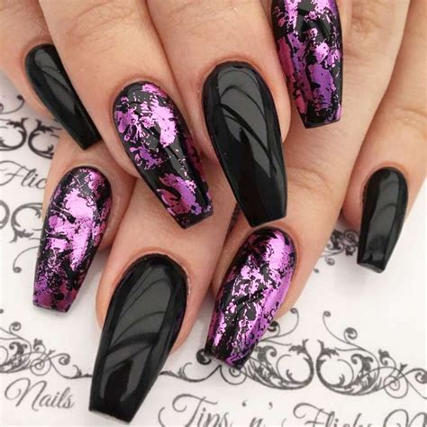 purple pattern nails 27 trendy purple nails looks to consider