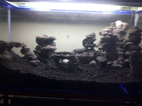 Harga Pasir Malang Kasar jual aquascape meja besi 2 tingkat iwagumi model 2