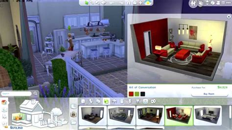 the sims 4 decorating a house