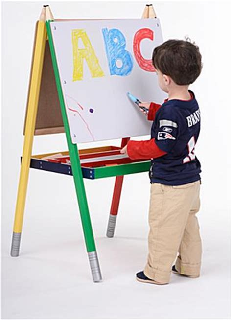 best easel for kids easels for kids double sided markerboard and chalkboard