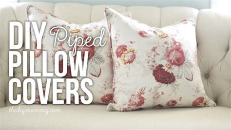 Zippered Cushion Covers by Sew A Piped Zippered Pillow Cover Tutorial The