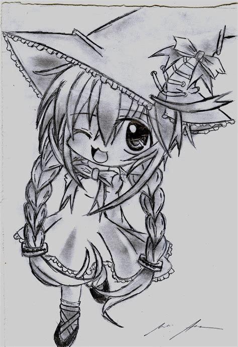 doodle draw anime chibi anime drawing by kurunomibreak on deviantart