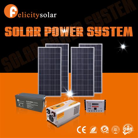 Small Home Solar System Guangzhou Factory Solar Power System For Small Homes 1 5kw