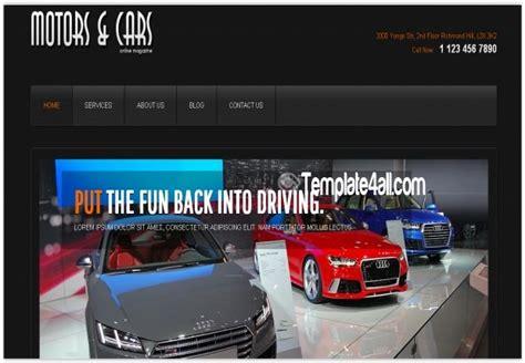 responsive car joomla 3 template free