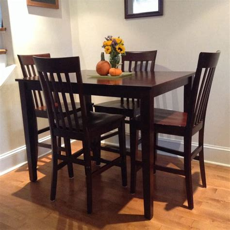 solid wood counter height table and chairs counter height table and chairs solid wood furniture in
