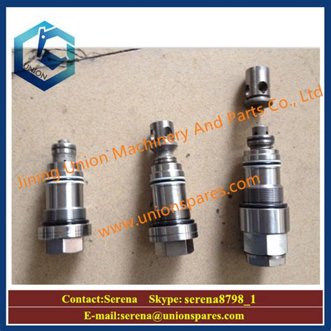 Safety Valve Pn 723 90 61300 hydraulic parts pc200 6 excavator relief valve 723 40
