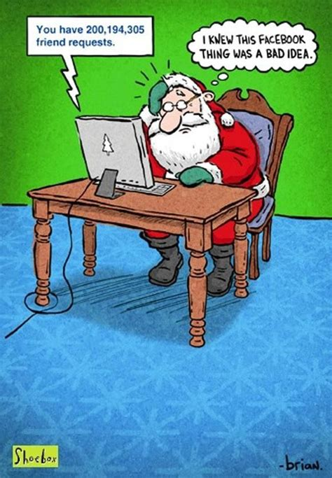 humor santa facebook christmas cheer pinterest