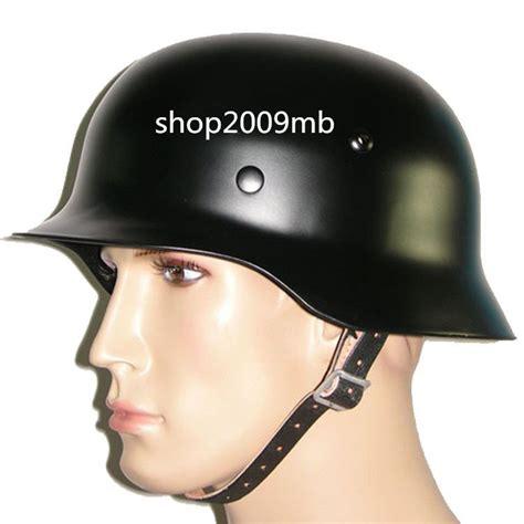 Motorradhelm Stahlhelm by Wwii German Black M35 Steel Motorcycle Helmet Army Field