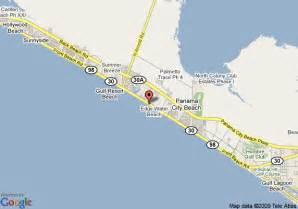 map of calypso resort and towers panama city