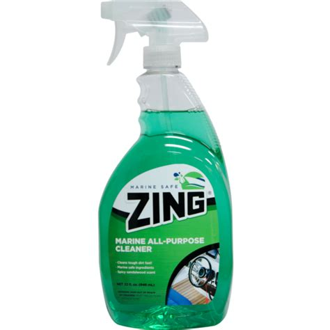 boat hull cleaner ingredients zing 174 professional and marine safe boat cleaners fresh